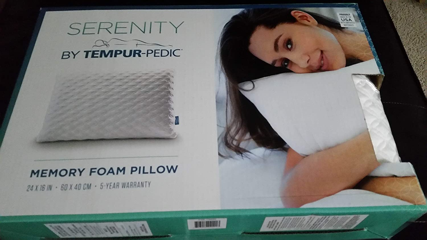 Serenity By Tempur Pedic Memory Foam Bed Pillow Amazon In Home