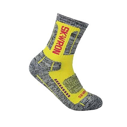 yuedge Mujer antideslizante calcetines de algodón transpirable para Deportes al aire libre de senderismo