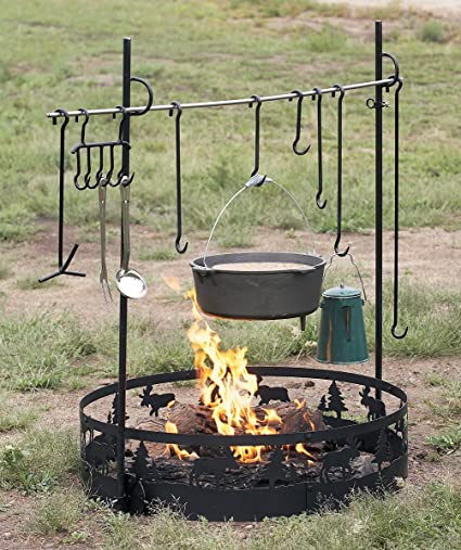 Guide Gear Campfire Swing Grill