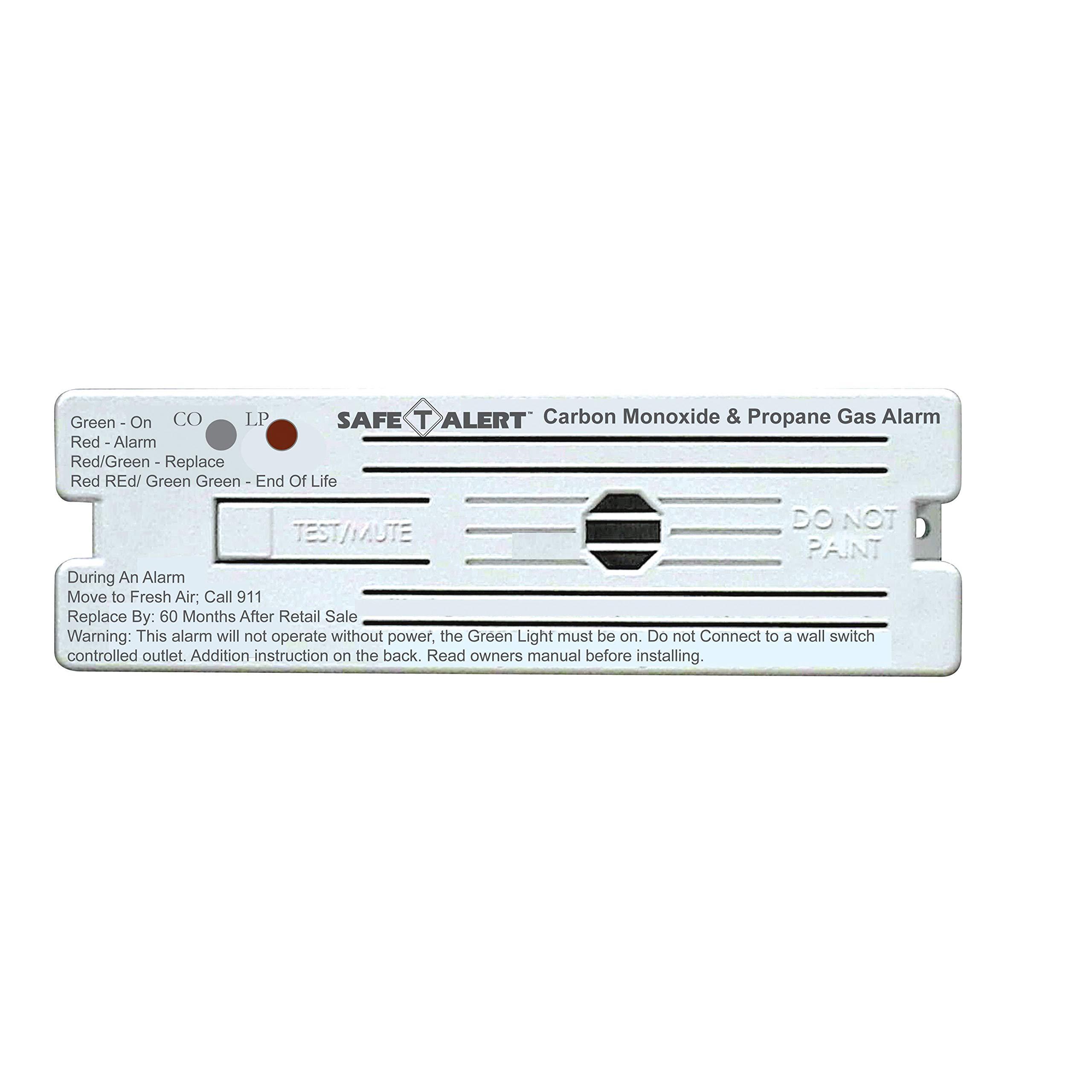 Marine Technologies MTI Industries 35-741-WT Detector Lp & Co Flush Mount Alarm White by Marine Technologies