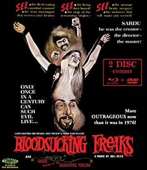 Blood Sucking Freaks directed by Joel M. Reed horror movie reviews
