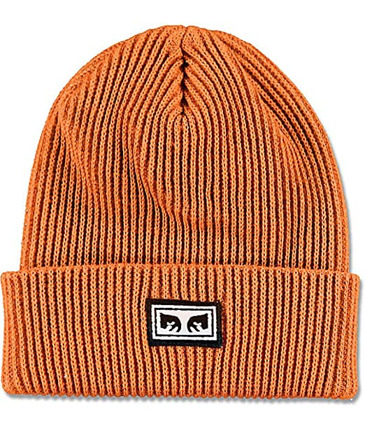 Obey - Gorra de Punto - Subversion - Naranja (Talla Unica): Amazon ...