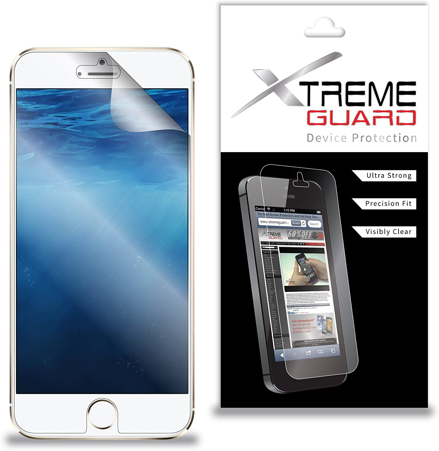 Premium XtremeGuard™ Screen Protector Cover for Apple iPhone 6s Plus (Ultra Clear)