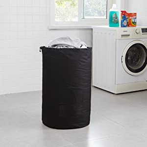 DormCo Laundry Backpack - TUSK College Storage - Black