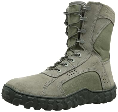 Amazon.com | Rocky Men's S2V Sage Green Work Boot | Industrial ...