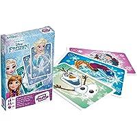 Cartamundi Disney Frozen Pairs and Old Maid Playing Cards, 1 Deck