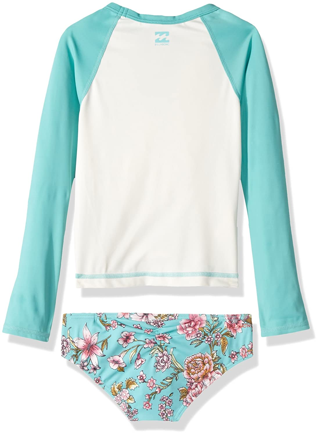 Billabong Big Girls Blooming Beauty Rashguard Swim Set