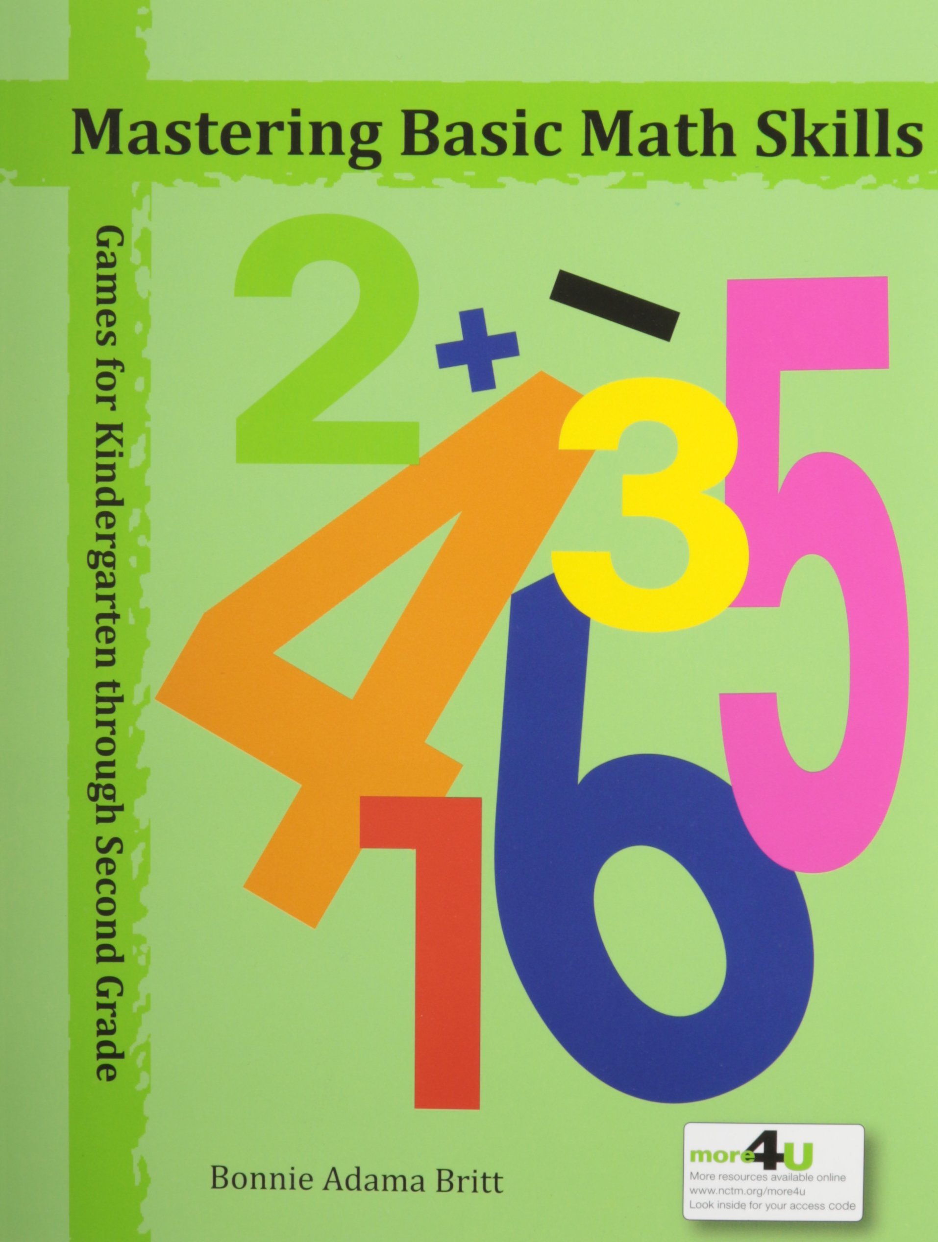 Mastering Basic Math Skills: Games for Kindergarten through Second ...