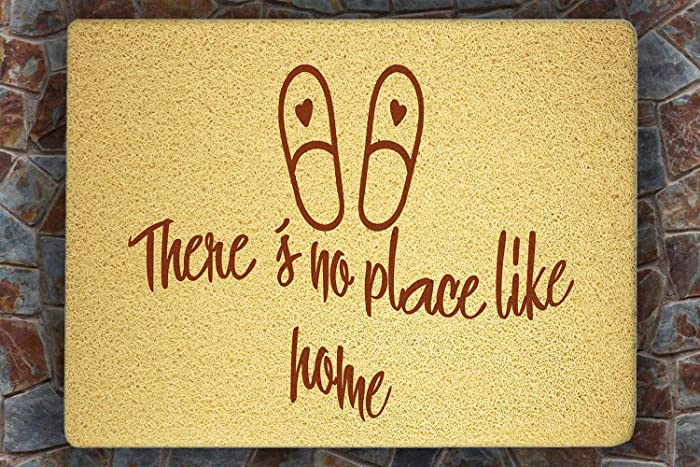 Amazon Com There S No Place Like Home Door Mat Sweet Home