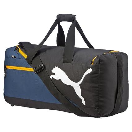 f5f6197a9d2 Amazon.com: Puma Unisex Fundamentals Sports Bag M Blue Wing Teal Bag ...