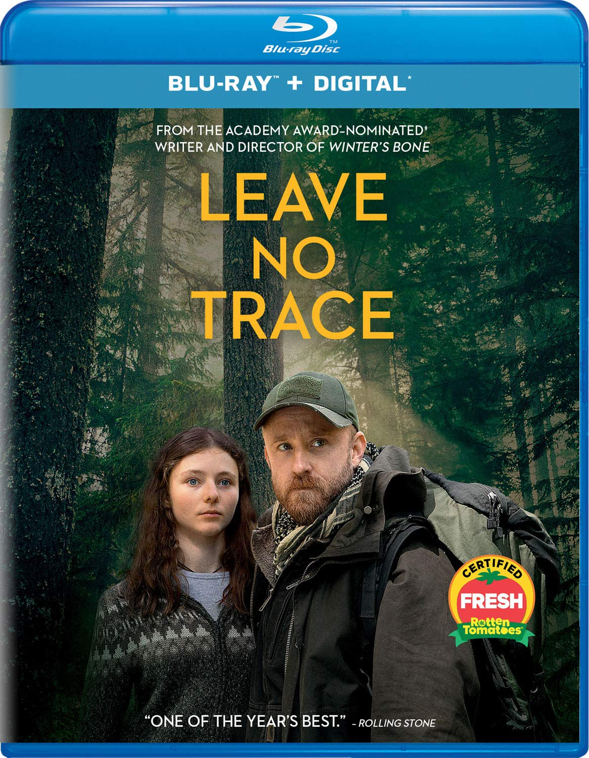Amazon Leave No Trace Blu Ray Ben Foster Thomasin Harcourt