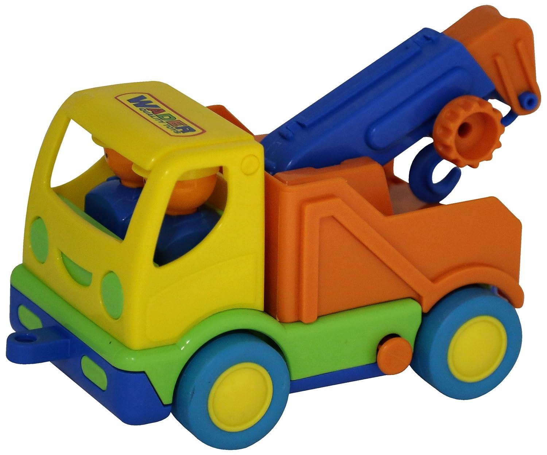 WADER POLESIE Wader Mi primer carro de la grúa: Amazon.es: Juguetes y juegos