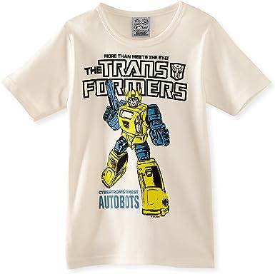 LOGOS Kids Shirt Transformers-Bumblebee-Autobots Camiseta para Niños: Amazon.es: Ropa y accesorios