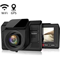 Campark Full HD 1080p Dash Cam with GPS Logger and Wifi