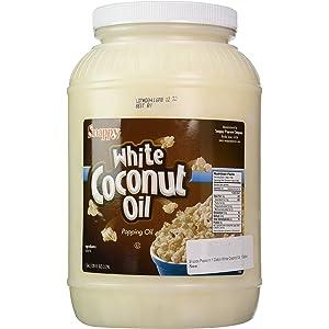Snappy Popcorn 1 Gallon White Coconut Oil, 1 Gallon