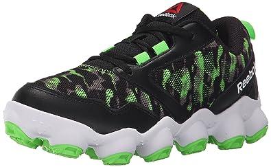 Reebok ATV19 3.0 Running Shoe (Little Kid/Big Kid), Black/Solar