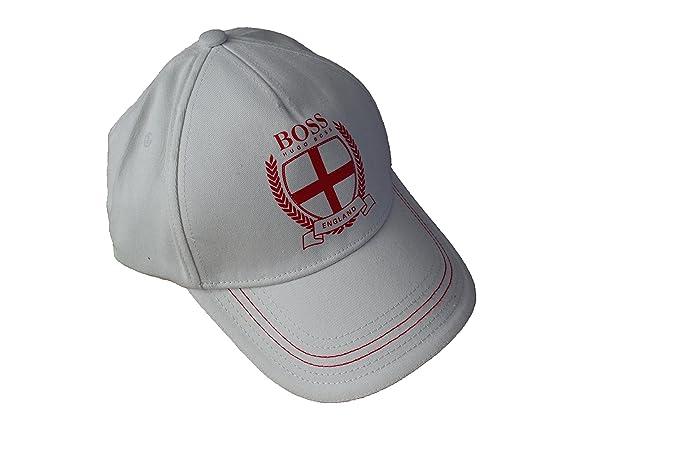 BOSS Gorra de béisbol Hugo para Hombre, diseño de Cruz de Inglaterra: Amazon.es: Ropa y accesorios