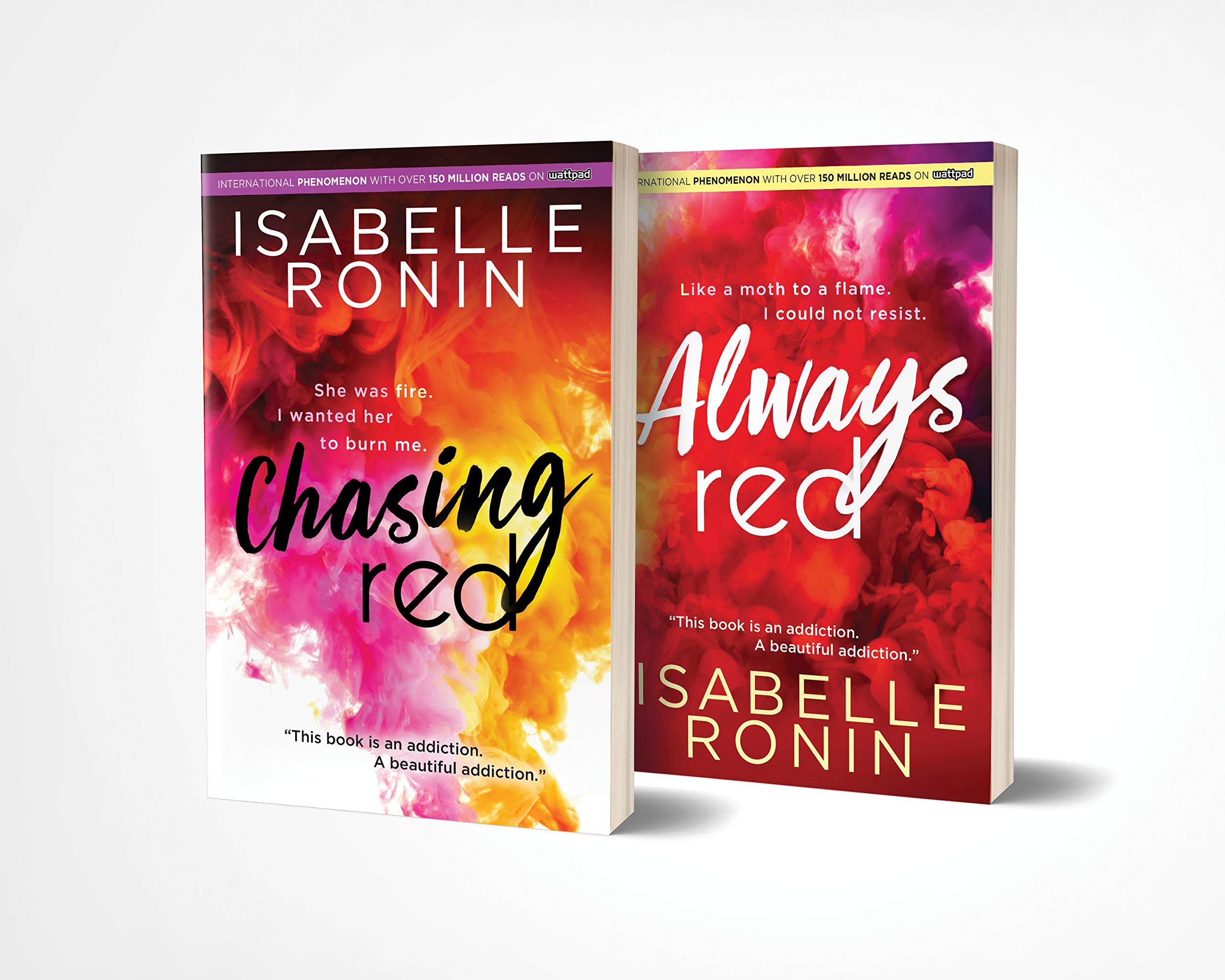 Amazon Com Chasing Red Always Red Boxed Set An Angsty College New Adult Romance From A Wattpad Megastar 9781728241869 Ronin Isabelle Books