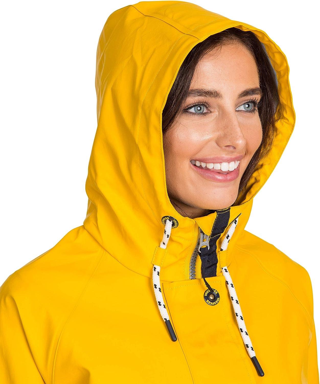 Trespass Shoreline Veste de pluie pour femme M Jaune