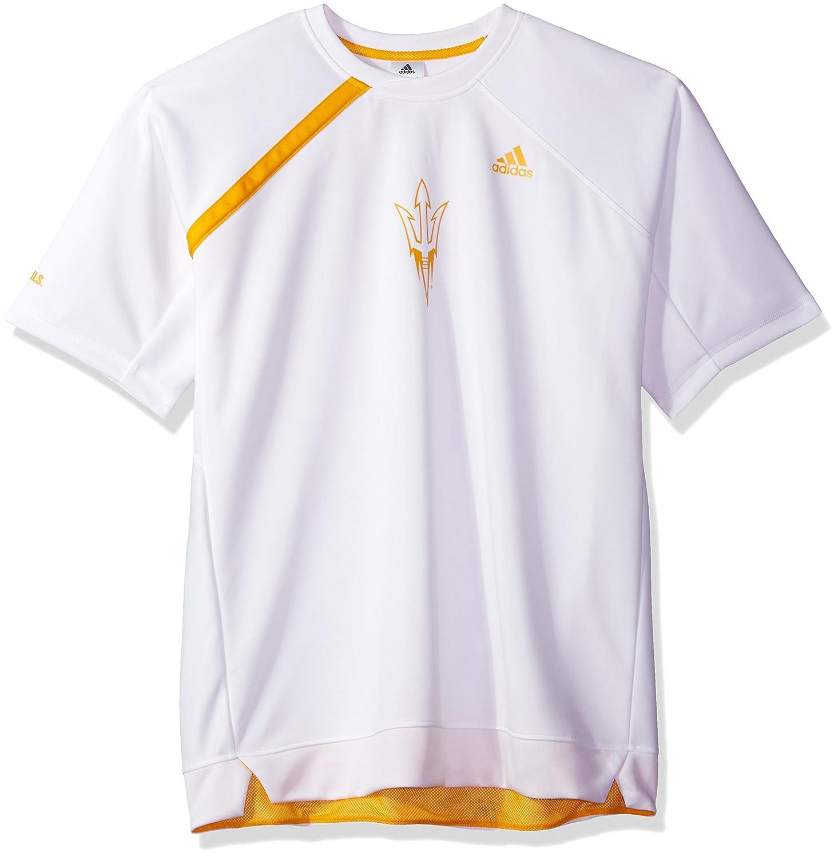 NCAA Arizona State Sun Devilsメンズon Court S/Shooting shirton Court S/シューティングシャツ、ホワイト、ミディアム   B0752WQ5LB