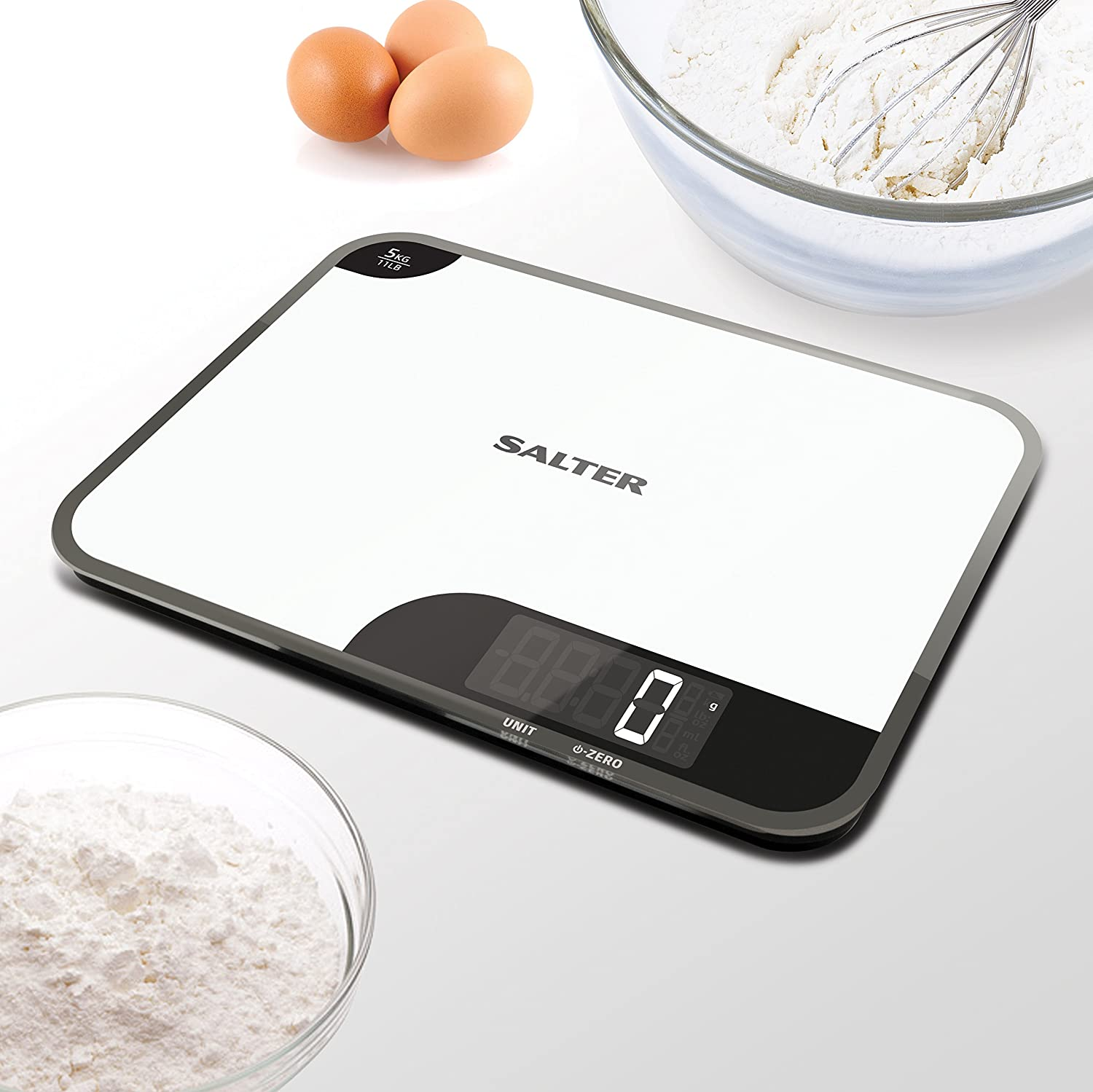 Salter Mini-Max Kitchen Scales, Small + Practical, Measure Food ...