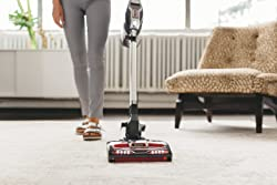 Shark Rocket DuoClean HV382 Ultra-Light Corded (Non-Cordless) Bagless Carpet and Hard Floor with Hand Vacuum, Charcoal