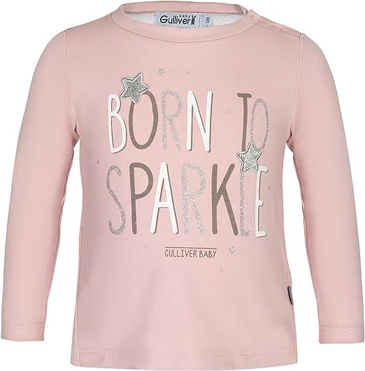 casual Maglietta a maniche lunghe a tinta unita in cotone per bambine e neonate.