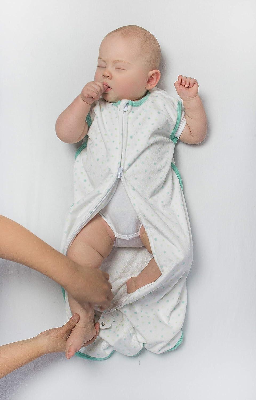 Medium Playful Dots Amazing Baby Microfleece Sleeping Sack with 2-Way Zipper Pink