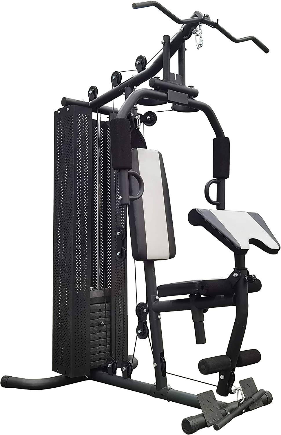 BalanceFrom RS 90 Home Gym System Workout Station with 380LB of Resistance