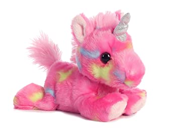 Aurora Jellyroll Unicorn Stuffed Animal For Kids
