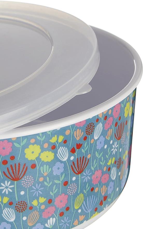 Premier Housewares MIMO Casey 25/x 25/x 1/cm Multi//color/ées Assiette en m/élamine