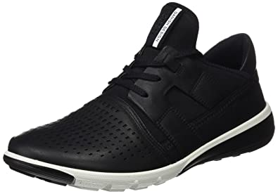 3f90b4381beb ECCO Men s Intrinsic 2 Perforated Tie Fashion Sneaker Black