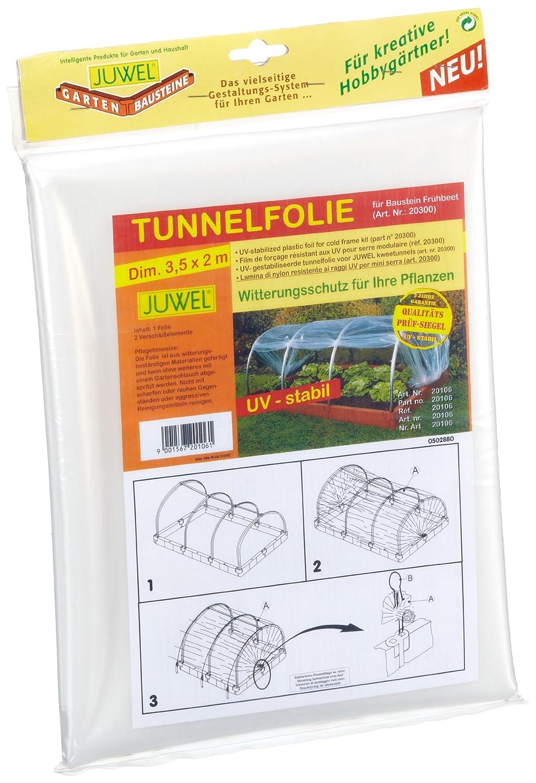 Juwel 20106 Tunnelfolie für Baustein-Frühbeet: Amazon.de: Garten