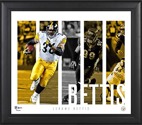 """065531d39b4 Jerome Bettis Pittsburgh Steelers Framed 15"""" x 17"""" Player Panel  Collage - NFL Player"""