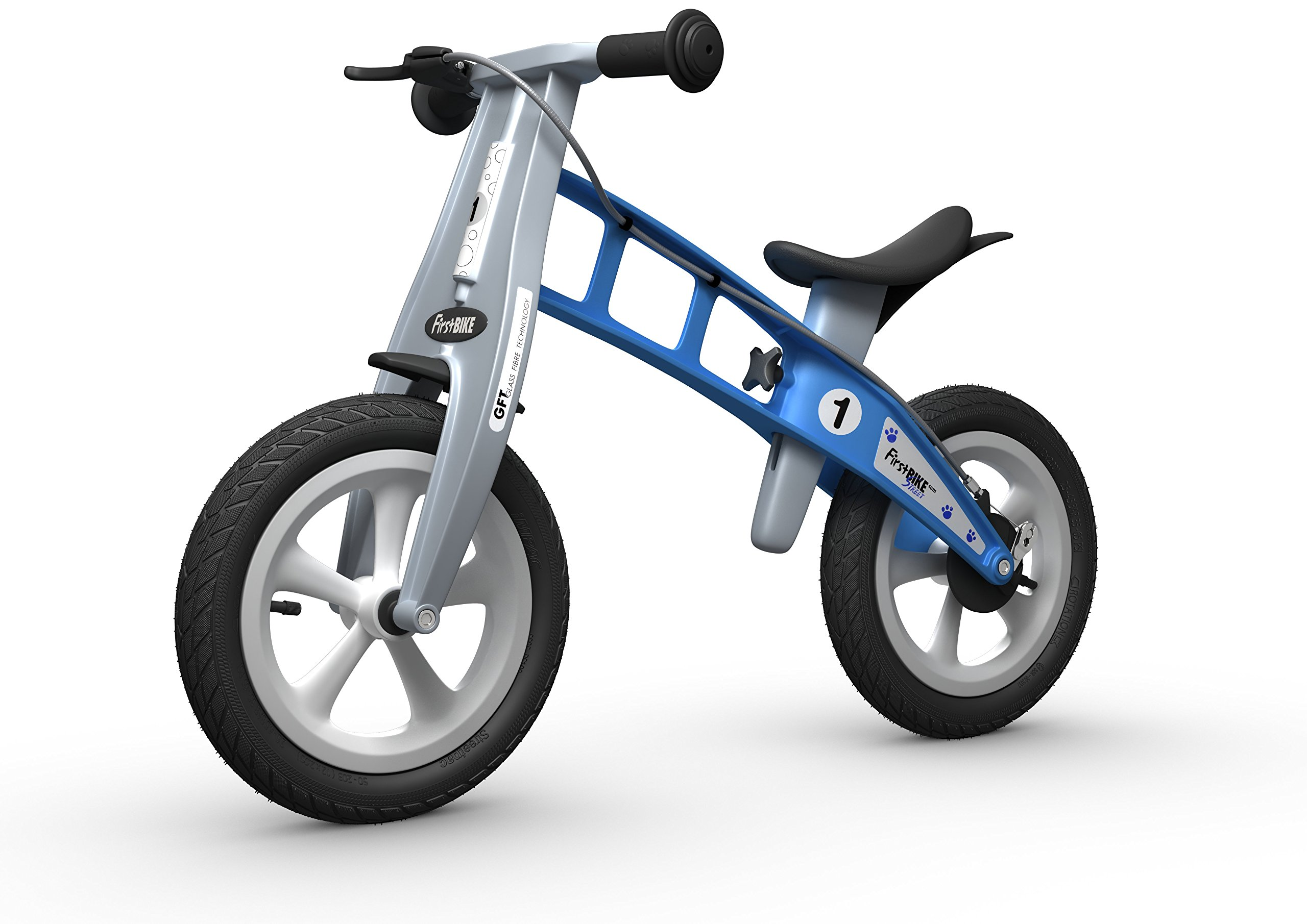 FirstBIKE Street Balance Bike, Light Blue by FirstBIKE