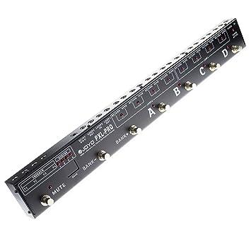 Joyo Pxl-pro Pedales/amplificadores 4 canales duales de hasta 32 efectos combinados.: Amazon.es: Instrumentos musicales
