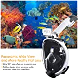 COSVII Snorkel Mask Full Face, Diving Mask with