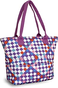 J World New York Lola Lunch Tote, Checkmate, One Size