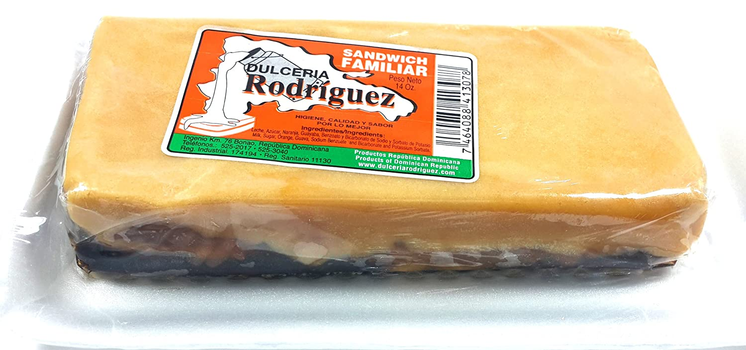 Amazon.com : Dominican Sweet Orange Guava Milk-fudge Dessert Dulce Naranja Guayaba Leche 2 Pack : Grocery & Gourmet Food