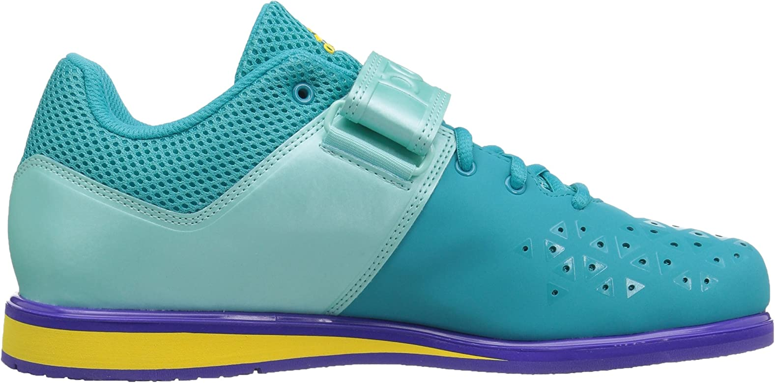 df75260e351409 adidas Women s Powerlift 3 1W Cross Trainer Shoes, Blue 15 Medium US ...