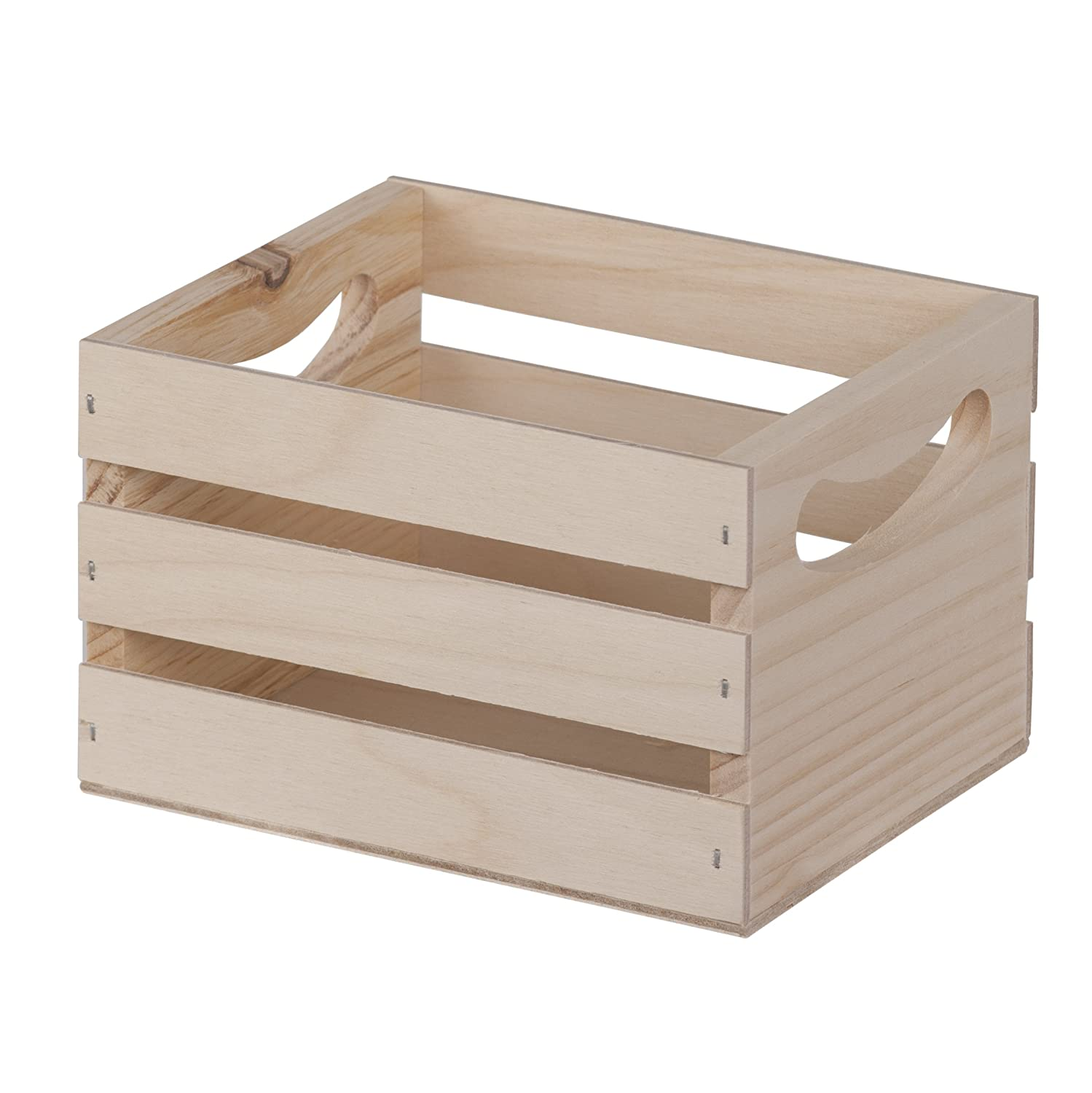 Walnut Hollow 6.5 by 5.3 by 4.25-Inch Crate, Mini