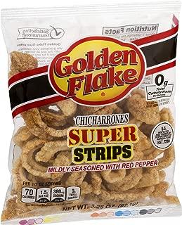product image for Golden Flake Super Cracklin Strip w/Red Pepper Seasoning 3 oz (Pack of 4)