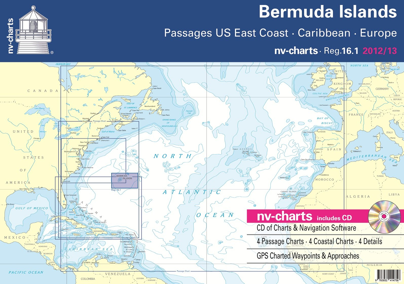 Bermuda Island - Passages US East Coast & Caribbean & Europe (NV ...