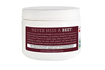 Amazon.com: Red Ace 100% Organic Beet Powder, 5.3 Ounce: Health & Personal Care