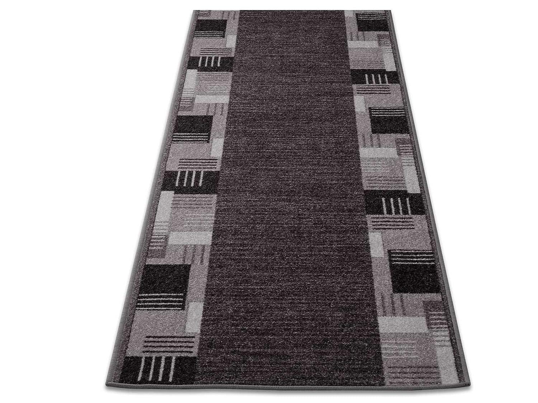 1A Teppich-Läufer auf Maß gekettelt     Murano (80x400, grau) B01LEQ4202 Lufer 670b67