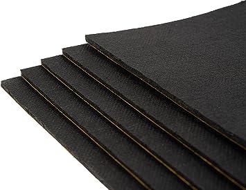 10 Stück Bitumenmatte Antidröhnmatte Bitumen Dämmmatte Selbstklebend 500x200x3 6mm Baumarkt