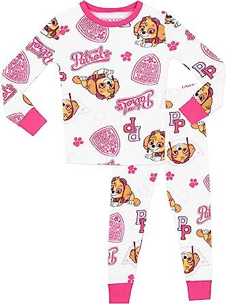 Girls Paw Patrol Everest All in One Sleepsuit Pyjamas Pjs Nightwear 2-8 Yrs Gift