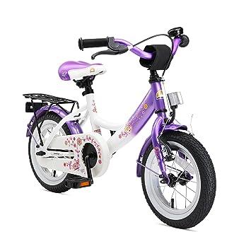 Bikestar   Bicicleta Infantil 12 Pulgadas   Color Lila & Blanco ...