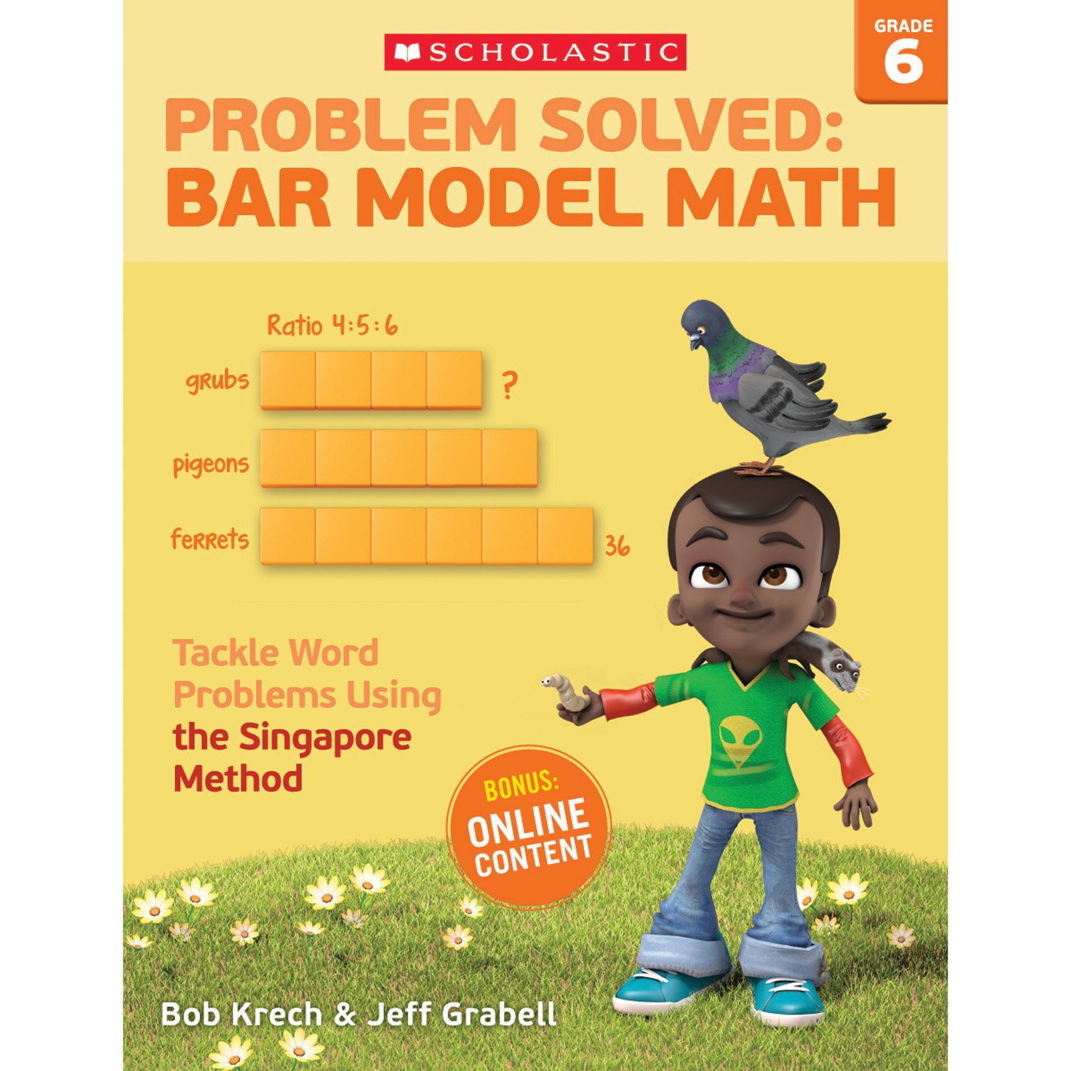 Amazon.com: Problem Solved: Bar Model Math Grade 6: Tackle Word ...