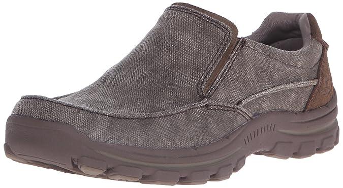 Skechers En Forma Relajada Más Valiente De Los Hombres Zapatos Sin Cordones Amazon OVj5DULb